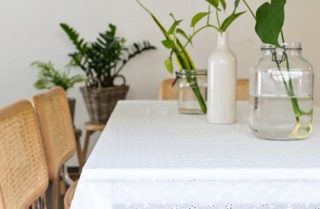 מפת שולחן- תחרה שוויצרית